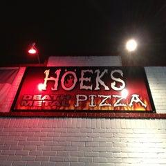 Photo taken at Hoek's Death Metal Pizza by Arpan on 2/7/2013