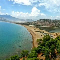 Photo taken at İztuzu Plajı by Samet A. on 9/9/2015
