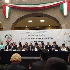 Photo taken at Antigua Sede del Senado de la República by Santina F. on 9/22/2014