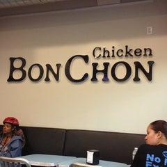 Photo taken at BonChon Chicken by Christofer J. on 9/28/2012
