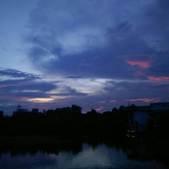 Photo taken at Tasik UNIMAS by Arifah A. on 11/4/2015