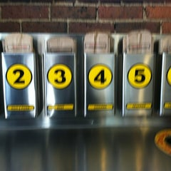 Photo taken at Which Wich? Superior Sandwiches by Stephen G. on 11/1/2012