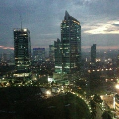 Photo taken at JW Marriott Hotel Jakarta by Sandeep on 1/25/2013