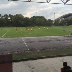 Photo taken at Stadium Mini Shah Alam by Sis Tengku A. on 1/21/2016