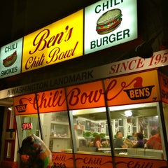 Photo taken at Ben's Chili Bowl by ThePurplePassport.com on 1/3/2013
