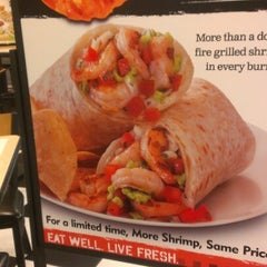 Photo taken at Baja Fresh by Lucy S. on 1/16/2013