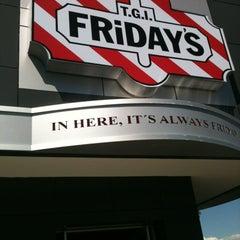 Photo taken at T.G.I. Friday's by Aurora B. on 10/7/2012