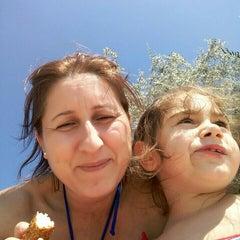 Photo taken at Pinar Otel beach club by Nilüfer S. on 8/29/2015
