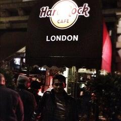 Photo taken at Hard Rock Cafe London by @fki701 on 9/19/2012
