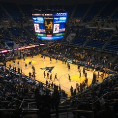 Photo taken at WVU Coliseum by Brett C. on 12/20/2012