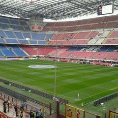 "Photo taken at Stadio San Siro ""Giuseppe Meazza"" by Stefano A. on 4/21/2013"
