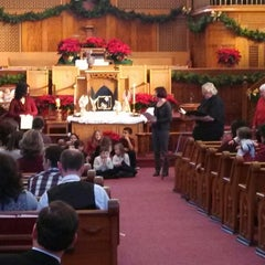Photo taken at First United Methodist Church by Robert M. on 12/24/2013