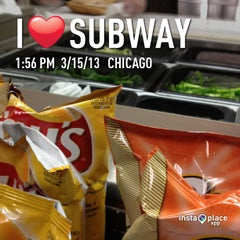 Photo taken at Subway by Marcelo C. on 3/15/2013