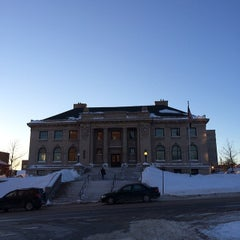 Photo taken at Peter White Public Library by Duane F. on 2/7/2014