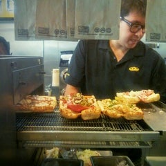 Photo taken at Which Wich? Superior Sandwiches by Julian W. on 6/22/2015