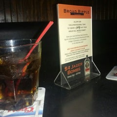 Photo taken at Broad Ripple Tavern by Johnny S. on 5/2/2013