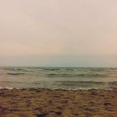 Photo taken at Lido Beach Spiaggia Libera Lido Di Camaiore by dailybreakfast.net on 6/8/2013