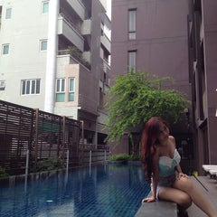 Photo taken at TENFACE Bangkok by Yasuharu N. on 10/3/2013