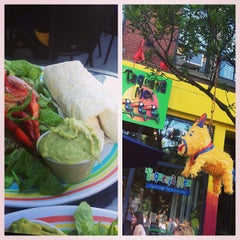 Photo taken at La Taqueria Mexicaine by maria s. on 6/15/2013