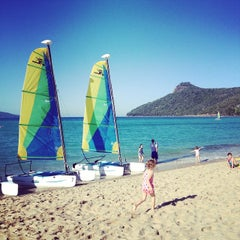 Photo taken at Hamilton Island by Mean T. on 8/2/2014