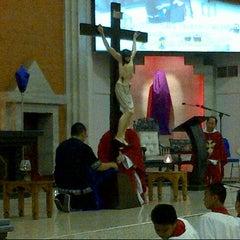 Photo taken at Gereja Katolik Redemptor Mundi by Maya P. on 3/29/2013