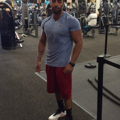 Photo taken at LA Fitness by Abdullah 1. on 8/6/2015