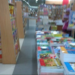Photo taken at Gramedia by Galih R. on 5/25/2013