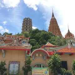 Photo taken at วัดถ้ำเขาน้อย (Wat Tham Kao Noi) by Bestby B. on 8/18/2015