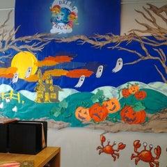 Photo taken at Orange County Library - Herndon Branch by Regina B. on 10/6/2012