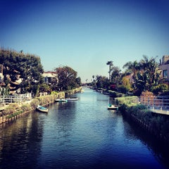 Photo taken at Venice Canals by Cindy C. on 4/13/2013