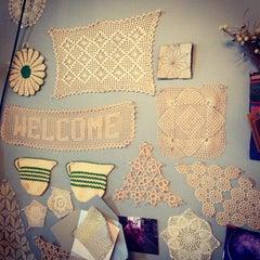 Photo taken at Textile Arts Center - BK by Lauren E. on 2/19/2013