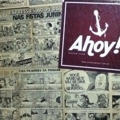 Photo taken at Ahoy! Tavern Club by Léo A. on 10/7/2012