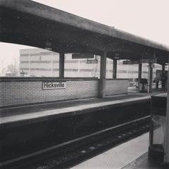 Photo taken at LIRR - Hicksville Station by Laura G. on 3/7/2013