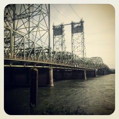 Photo taken at Interstate Bridge by Shawn E. on 4/27/2013