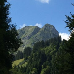 Photo taken at Moléson-sur- Gruyères by Nathalie G. on 8/22/2014