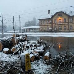 Photo taken at Rákosrendező vasútállomás by Zsolt C. on 3/14/2013