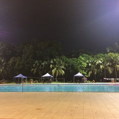 Photo taken at Orchid Country Club Swimming Pool by Shirley Y. on 6/11/2014
