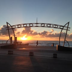 Photo taken at Surfers Paradise by Leo W. on 4/29/2013