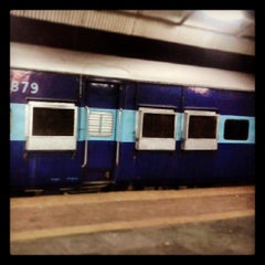 Photo taken at Bilaspur Railway Station by Manasvi M. on 6/8/2013