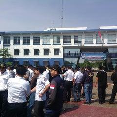 Photo taken at Sekolah Tinggi Ilmu Pelayaran (STIP) Marunda by Sony Frey S. on 7/3/2014