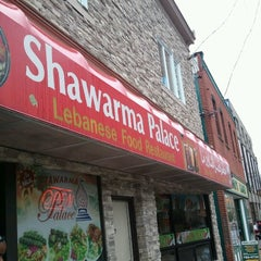 Photo taken at Shawarma Palace by Marc E. on 9/14/2012