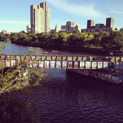 Photo taken at Boston University Bridge by 吟斐 程. on 9/20/2012
