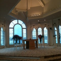 Photo taken at Disney's Wedding Pavilion by Tanaura on 10/8/2012