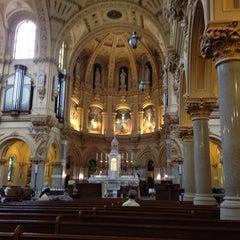 Photo taken at St. Francis Xavier Catholic Church by Jason S. on 8/18/2013
