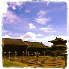Photo taken at Fo Guang Shan Temple   北岛佛光山 by Gonzalo G. on 3/25/2013