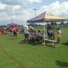 Photo taken at Mesa Soccer Complex by Chris on 8/23/2014