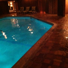 Photo taken at Cedars Indoor Pool by A T. on 12/31/2012