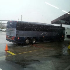Photo taken at Greyhound Bus Lines by Daniel L. on 2/23/2013