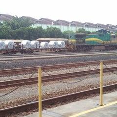 Photo taken at Estação Ferroviária Intendente Câmara (EFVM) by Thiagodfs on 11/6/2012