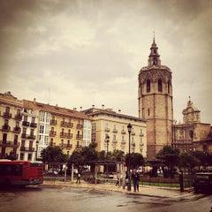 Photo taken at Plaça de la Reina by Santi G. on 10/25/2012